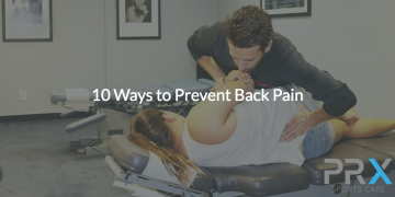 10 Ways to Prevent Back Pain
