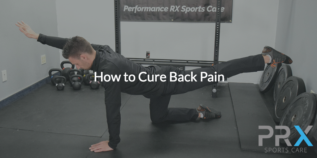 how to cure back pain